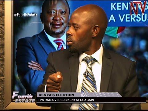 Fourth Estate: Uhuru Kenyatta against Raila Odinga again in the Kenyan presidential election