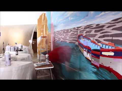 Marseille Street Art pour le Golden Tulip Hotel - Louvre Hotels Group France