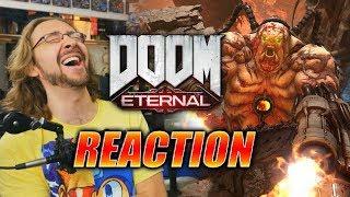 MAX REACTS: Doom Eternal - Gameplay & Reveal