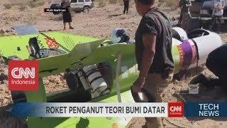 Wow! Pembuktian Penganut Paham Bumi Datar dengan Membuat Roket