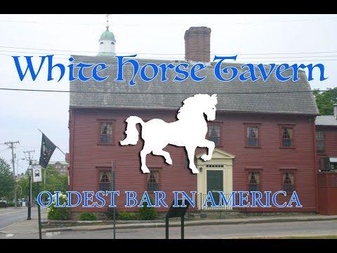 The Oldest Bar in America - White Horse Tavern, Newport RI