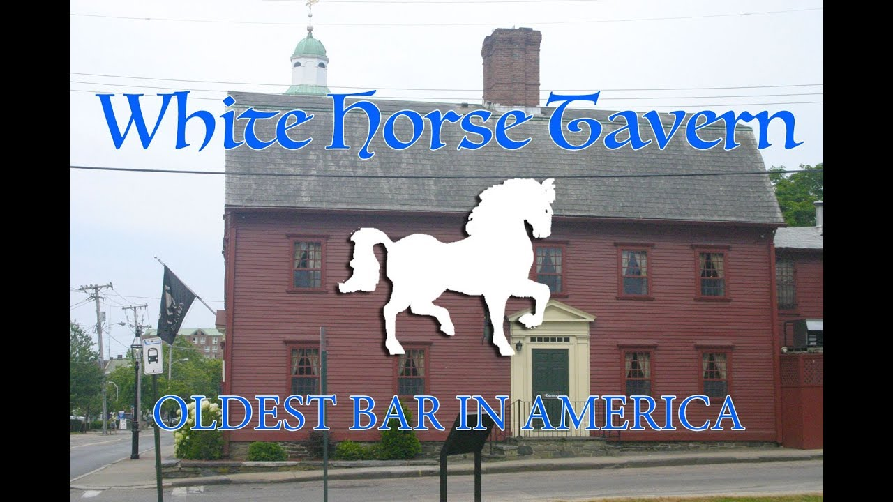 The Oldest Bar in America - White Horse Tavern, Newport RI