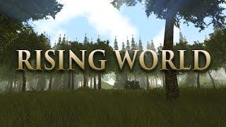 rising world 001 eine neue welt minecraft vs forest hd   let s play rising world