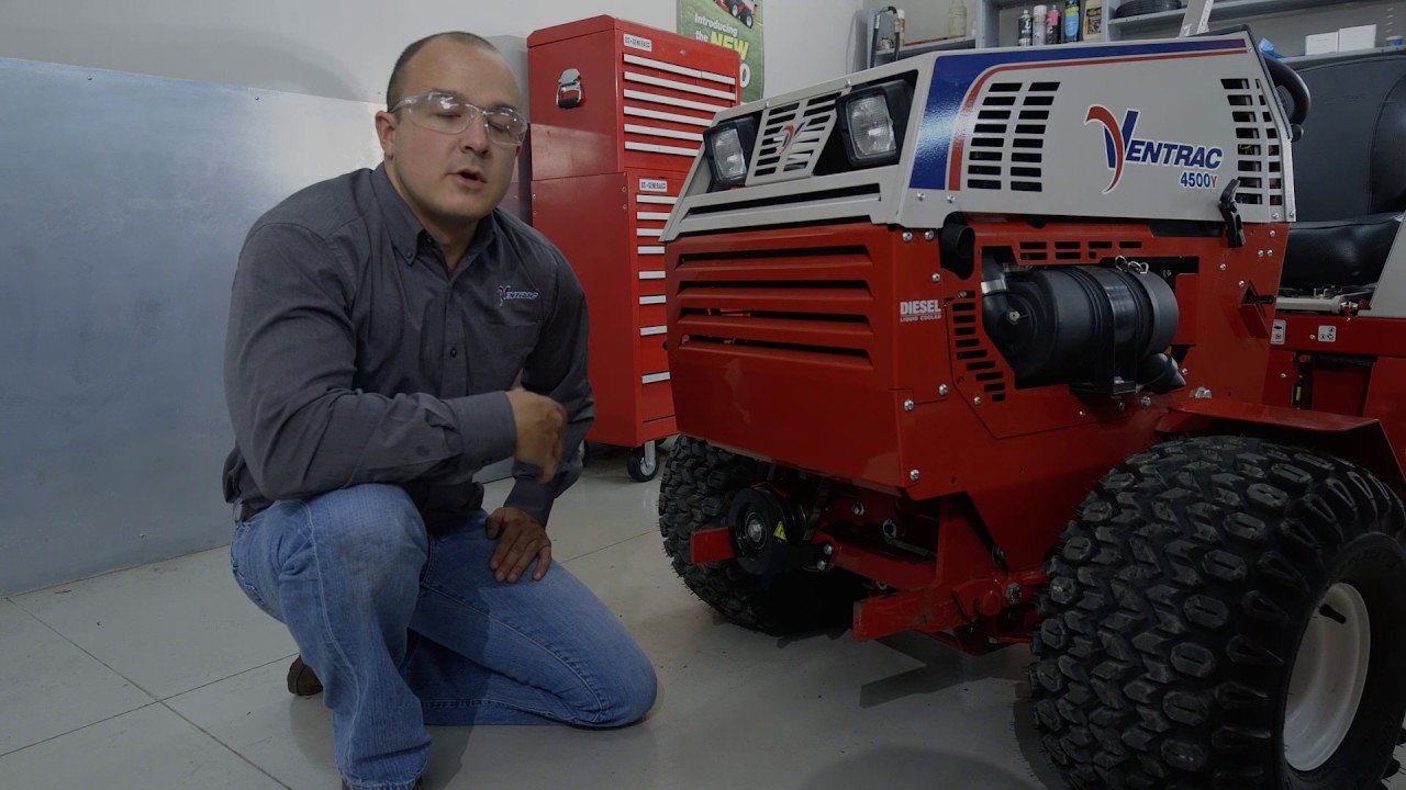 Ventrac 4500 Tractor Hydraulic System Service