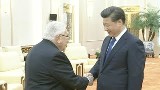 Chinese President Xi Jinping met with Henry Kissinger