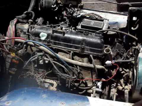 jeep cj7 with mpfi junkyard kit from xj92 automatic
