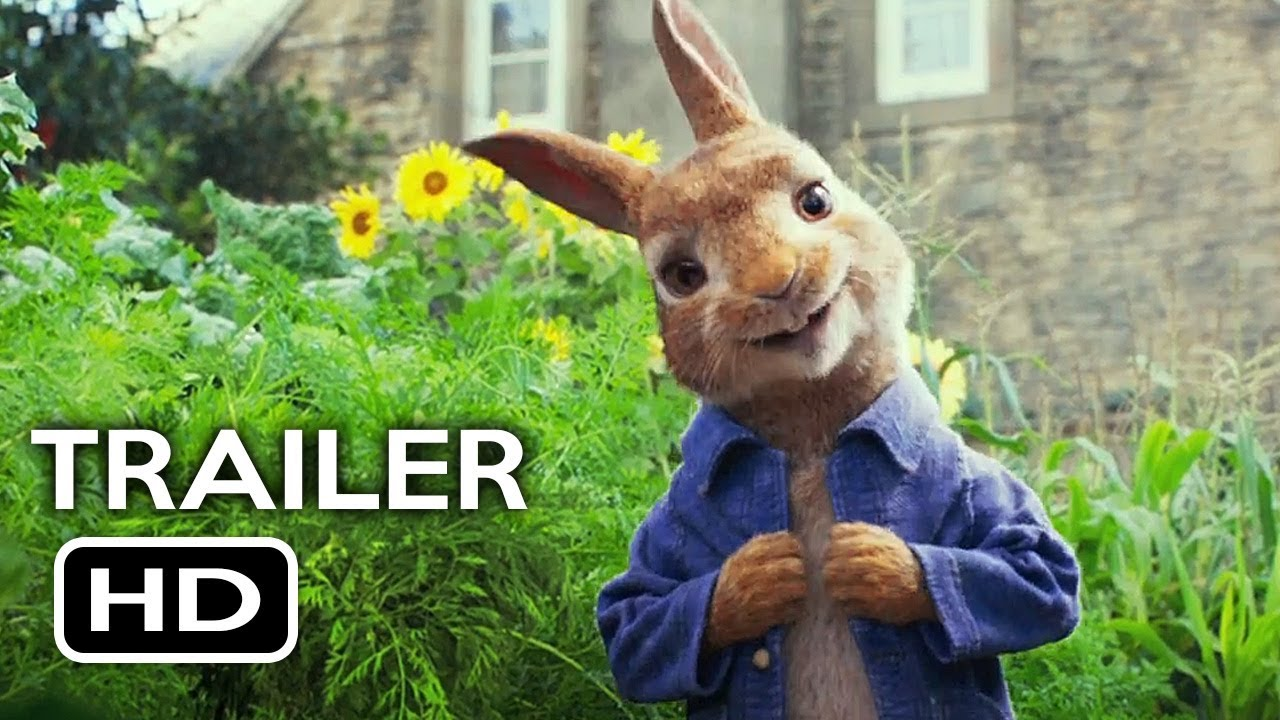 Peter Rabbit Official Trailer 1 2018 Margot Robbie Daisy Ridley Animated Movie Hd
