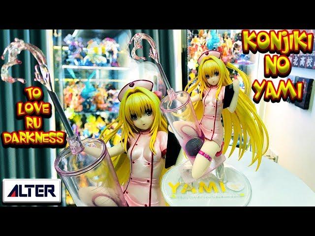 1//4 To LOVE-Ru Darkness Momo Belia Deviluke Bunny Ver Figure No Bikini Painted