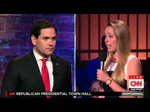 Marco Joins CNN For A Presidential Town Hall | Marco Rubio for President