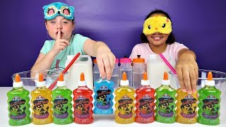 Download ISLA CHEATED!! Blindfolded Slime Challenge Mp3 and Videos