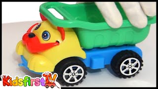 Children's Videos: Car Clown - AIRPLANE Take Off & Toy Airport - Toys & Trucks Cartoons for Kids
