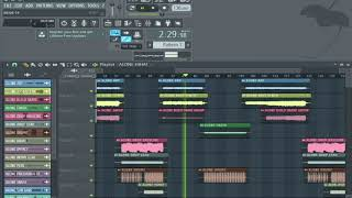 how i made my song in FL Studio 12