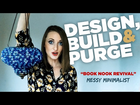 Hoarder to Minimalist | Watch me purge my stuff | Book Nook Revival Ep. 7