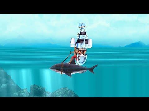 Hungry Shark Evolution Robo Shark Android Gameplay #33