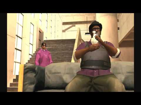 GTA San Andreas (Fan Suggestions #1) ''End of the Line'' with the Ballas mod