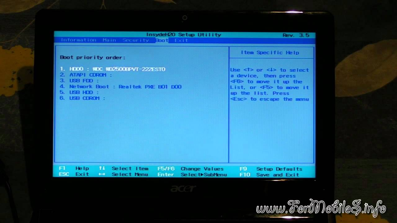 ACER ASPIRE ONE ZG5 BIOS DRIVERS WINDOWS XP