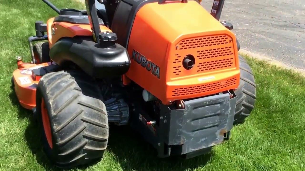 Kubota Zd331 Commercial Hydrostatic Zero Turn Lawn Mower