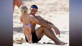 Wladimir Klitschko and Hayden Panettiere sun themselves in Barbados as retired heavyweight