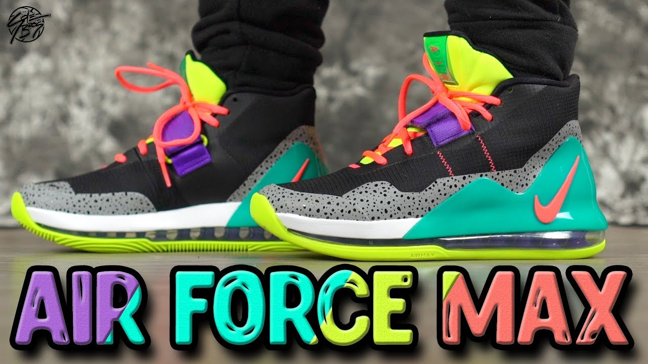 Nike Air Force MAX First Impressions