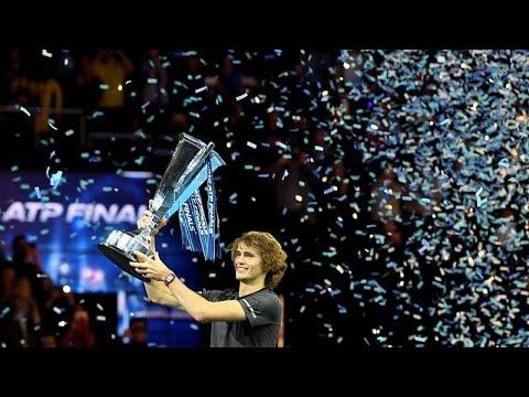 Prodígio alemão vence ATP Finals