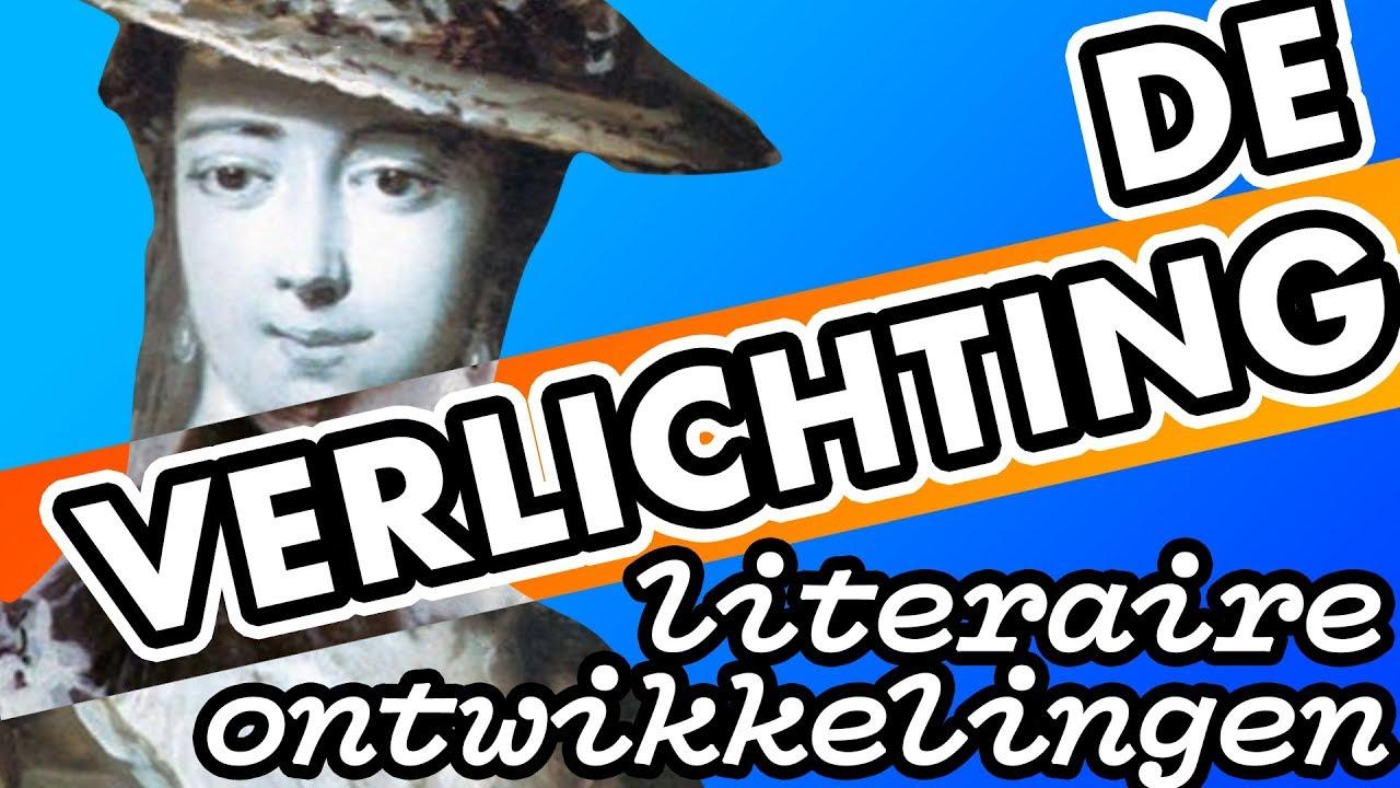 de verlichting literaire ontwikkelingen in de 18e eeuw nl