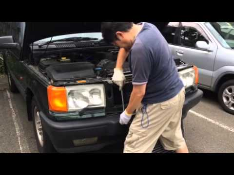 Range Rover P38 Air Conditioning Condenser Replacement