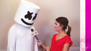 MARSHMELLO Actually Speaks During SWEETY HIGH Interview with CASSIE DILAURA!