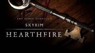 Skyrim (Walkthrough Remastered PS4) #104 DLC Hearthfire Partie 2 et préparations avant Dragonborn