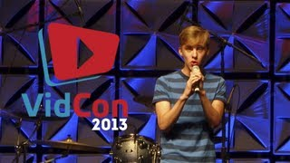 Repeat youtube video Jon Cozart performing After Ever After | VIDCON 2013