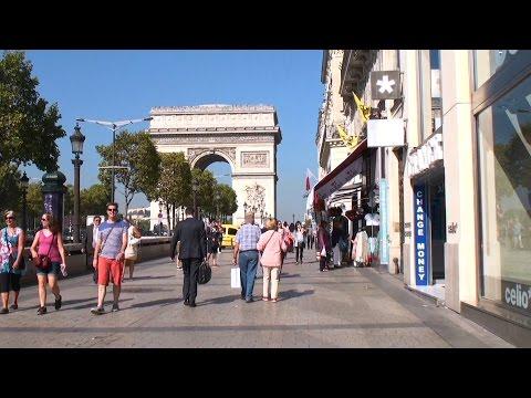 Champs Elysees, Cartier store - Paris, France / Елисейские поля, магазин Картье - Париж, Франция