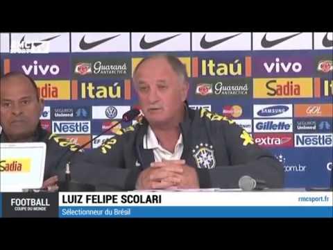 Luiz Felipe Scolari Coupe du Monde 2014