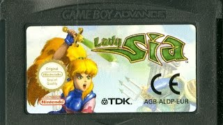 CGR Undertow - LADY SIA review for Game Boy Advance