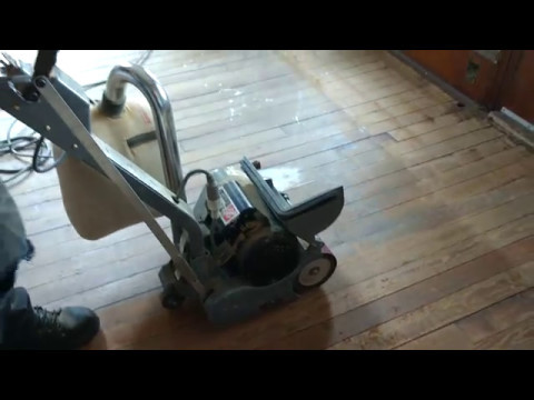 Home Depot Drum Type Floor Sander Rental Youtube