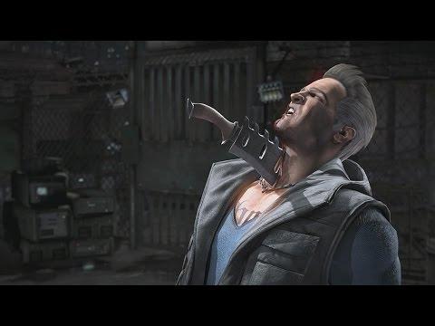 Mortal Kombat X - All Fatalities On Johnny Cage