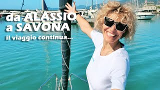DA ALASSIO A SAVONA giro d'Italia in barca a vela (ep.6)