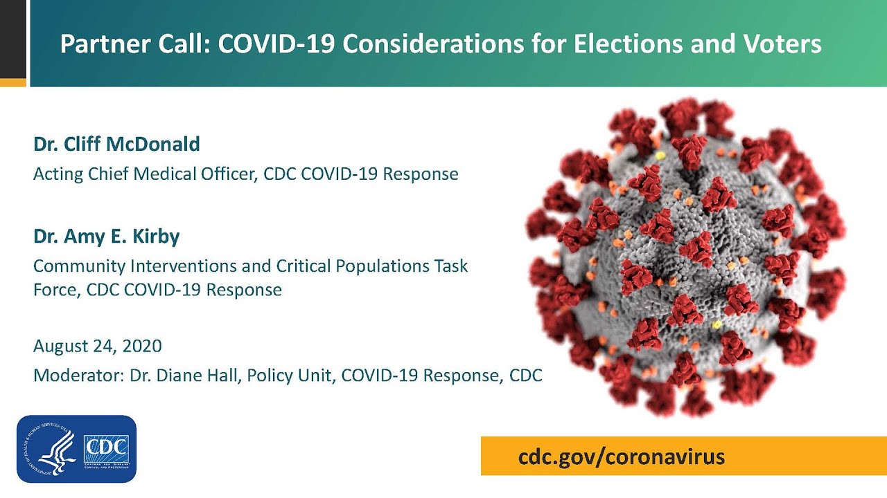 COVID-19 Partner Update Call: Health and Safety at the Polling Place