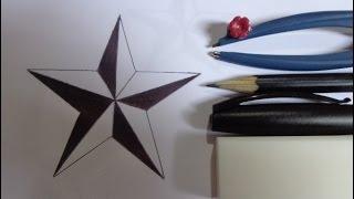 Como desenhar uma estrela perfeita passo a passo [FOTOS] How to draw a perfect star