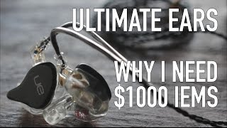 Ultimate Ears RM: $1000 In-Ear Monitors (4K Video)