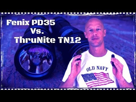 ThruNite TN12 Vs Fenix PD35 Flashlights: Comparison And Overview (HD)