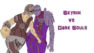 Skyrim vs Dark Souls 3