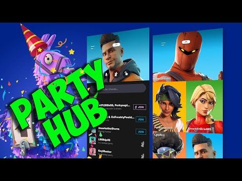 Fortnite Party Hub App (FULL MOBILE TUTORIAL)