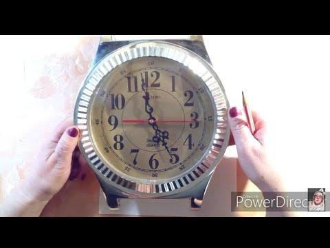 Оплетаем часы сложной формы. Часть 1