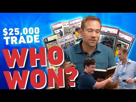 Who Won the $25,000 Miami Card Show Trade??