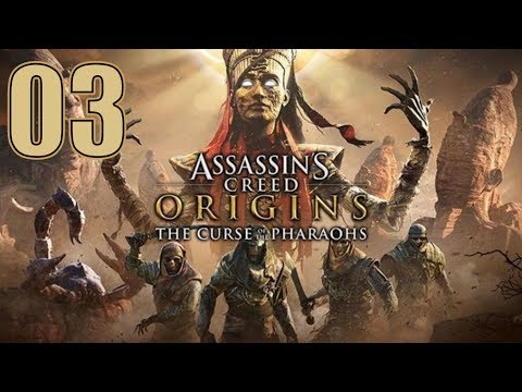 Assassin's Creed Origins - The Curse of the Pharaohs DLC - Let's Play Part 3: The Valley of Kings thumbnail