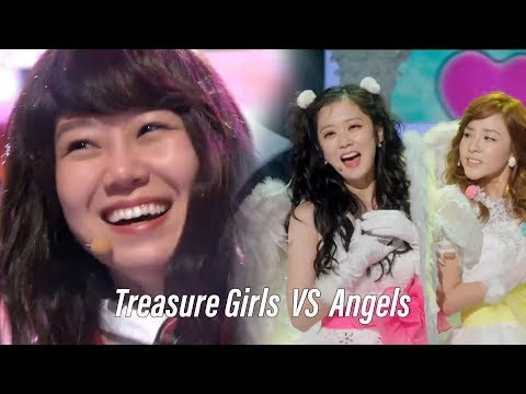 """Treasure Girls Of """"The Greatest Love""""  VS  Angels Of """"Happy Once Again"""""""