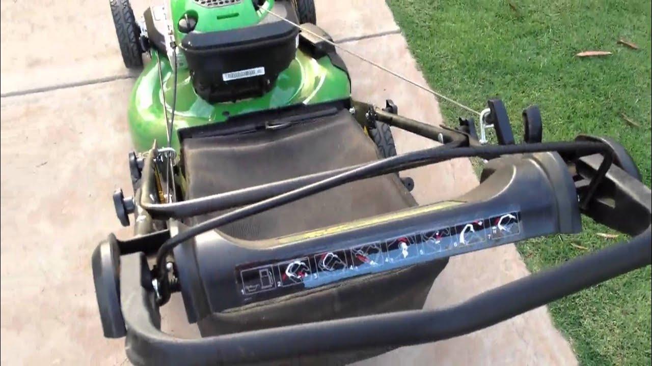 John Deere Js26 Push Mower Features Use M4v Youtube