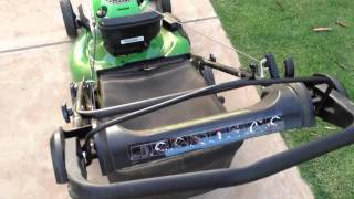 John Deere JS26 Push Mower Features & Use.m4v