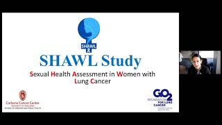 SHAWL study: sexual dysfunction in women with lung cancer