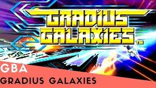 Gba Longplay #29: Gradius Galaxies
