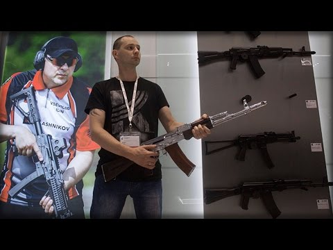 AK-47 STORE OPENS UP AT MOSCOW AIRPORT